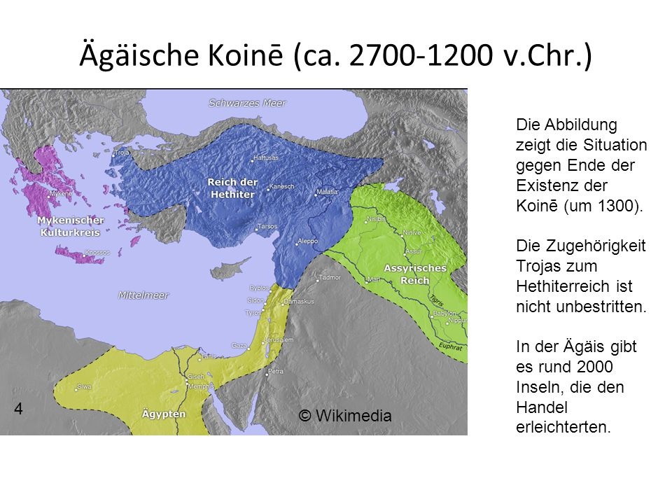 Ägäische Koinē (ca. 2700-1200 v.Chr.)