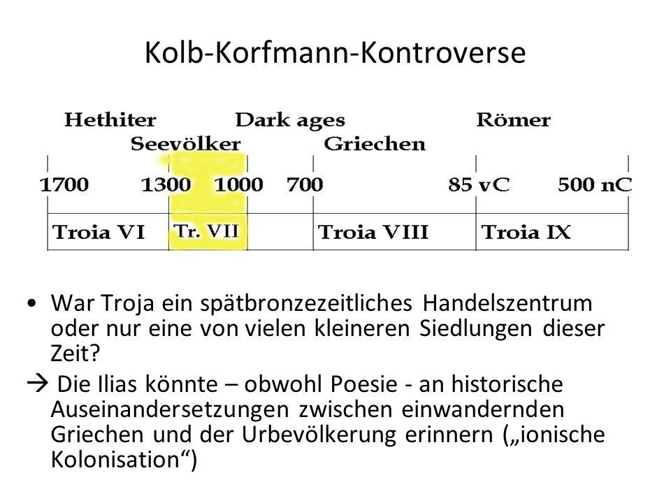 Kolb-Korfmann-Kontroverse