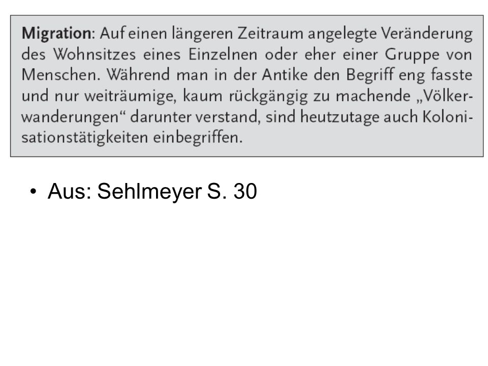 Aus: Sehlmeyer S. 30