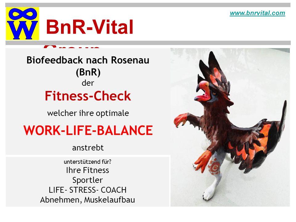 Biofeedback nach Rosenau