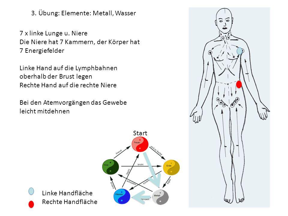 3. Übung: Elemente: Metall, Wasser