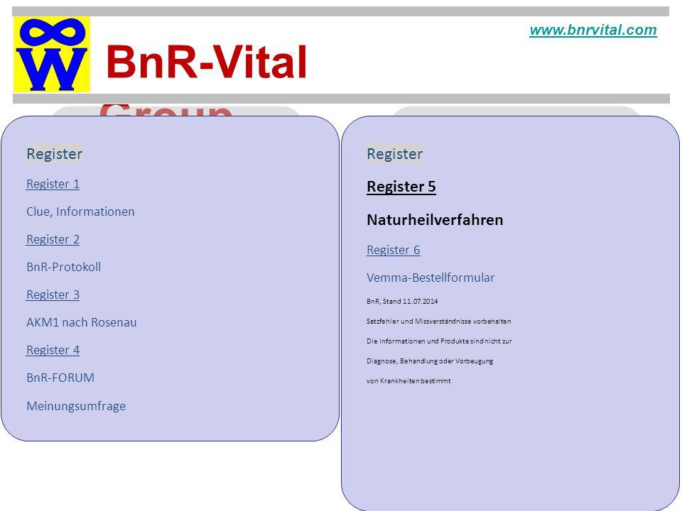 Register Register Register 5 Naturheilverfahren www.bnrvital.com