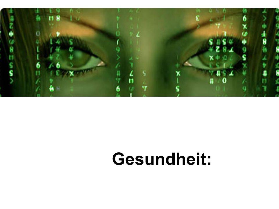 Gesundheit: