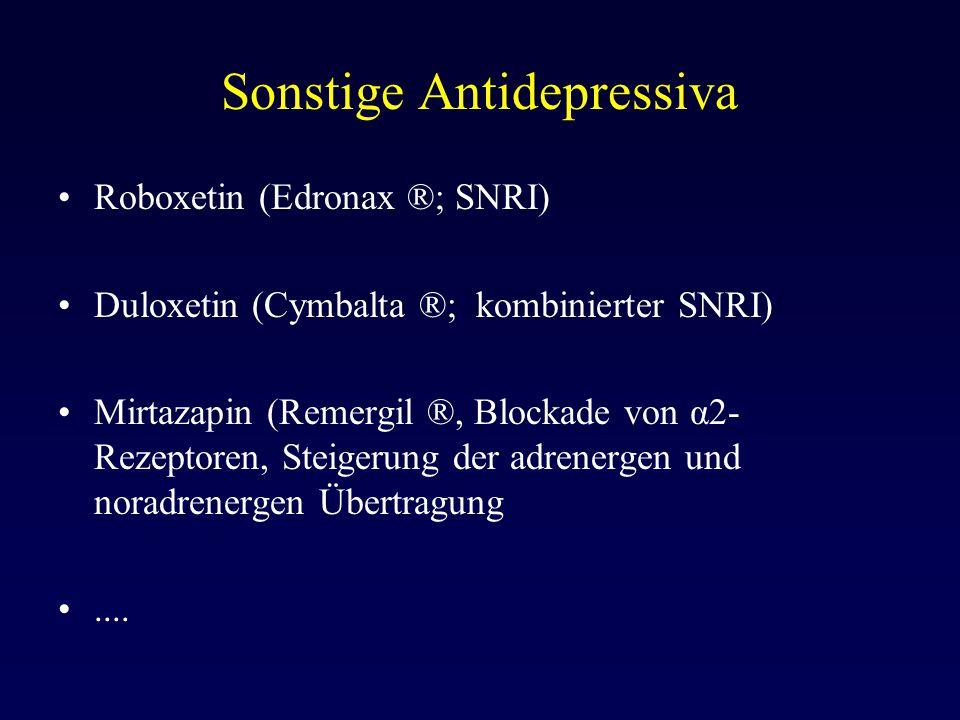 Sonstige Antidepressiva