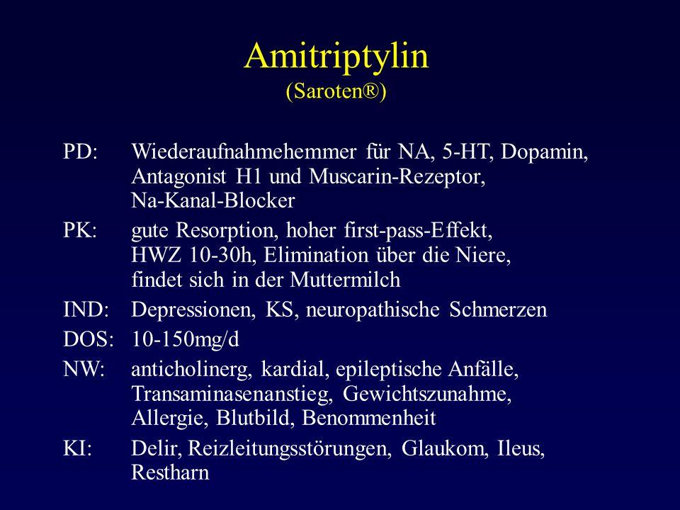 Amitriptylin (Saroten®)