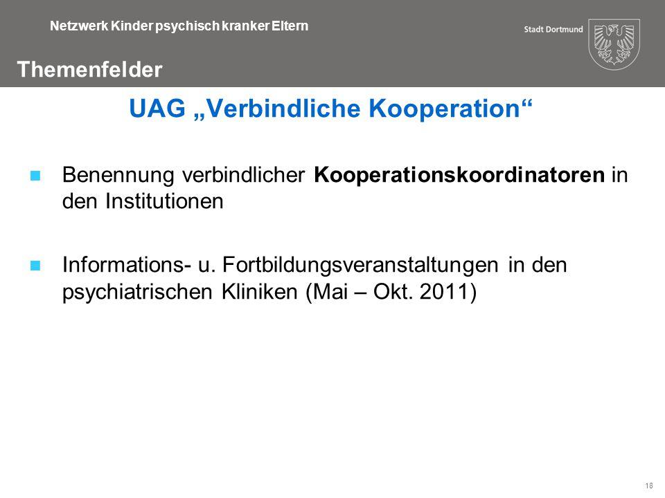 """UAG """"Verbindliche Kooperation"""