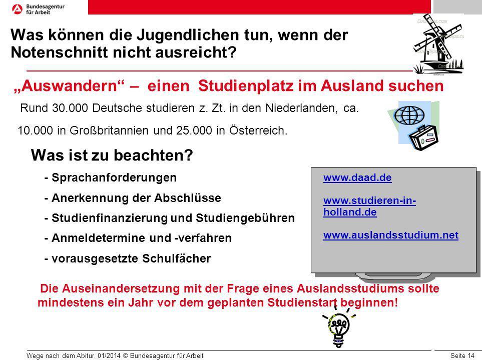 """""""Auswandern – einen Studienplatz im Ausland suchen"""