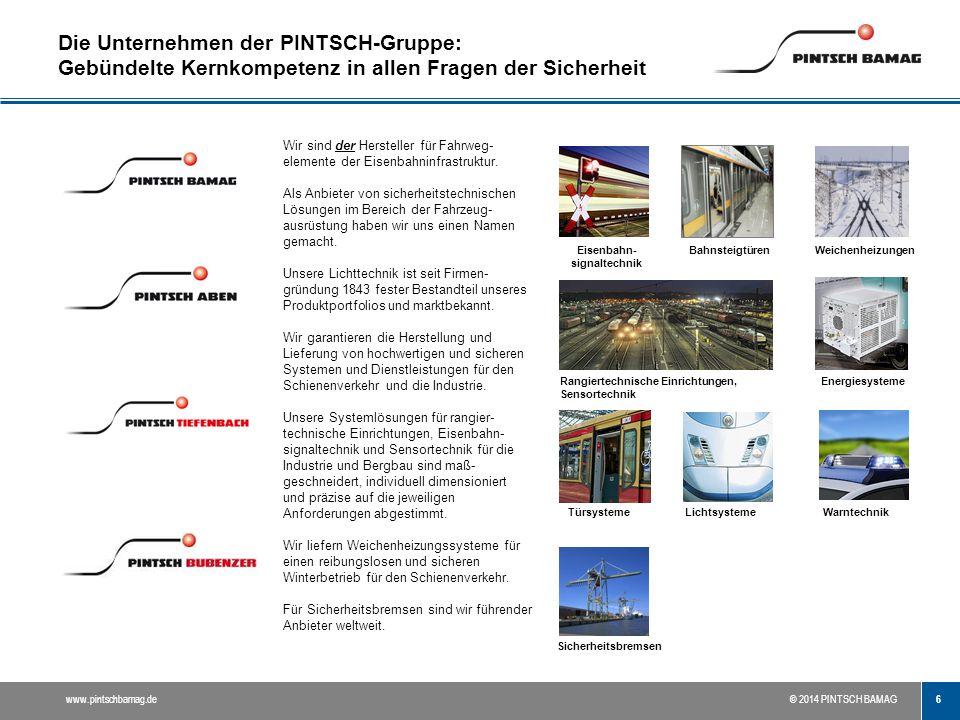 Die Unternehmen der PINTSCH-Gruppe: Gebündelte Kernkompetenz in allen Fragen der Sicherheit