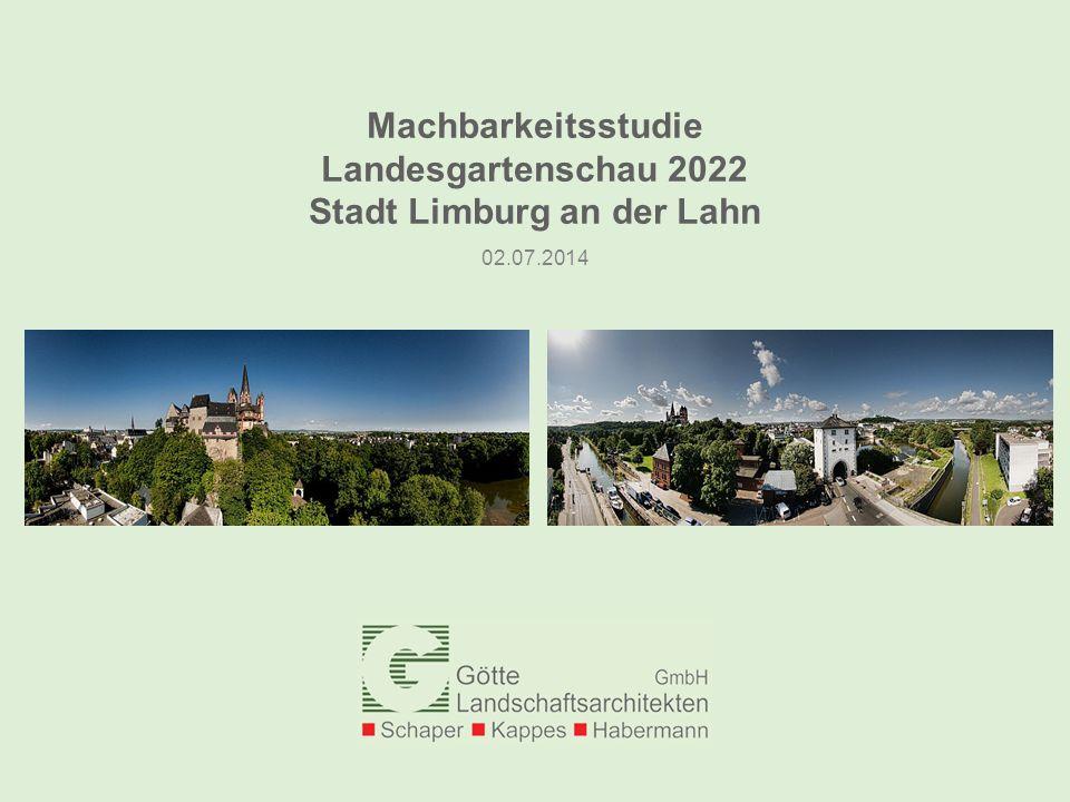Machbarkeitsstudie Landesgartenschau 2022 Stadt Limburg an der Lahn
