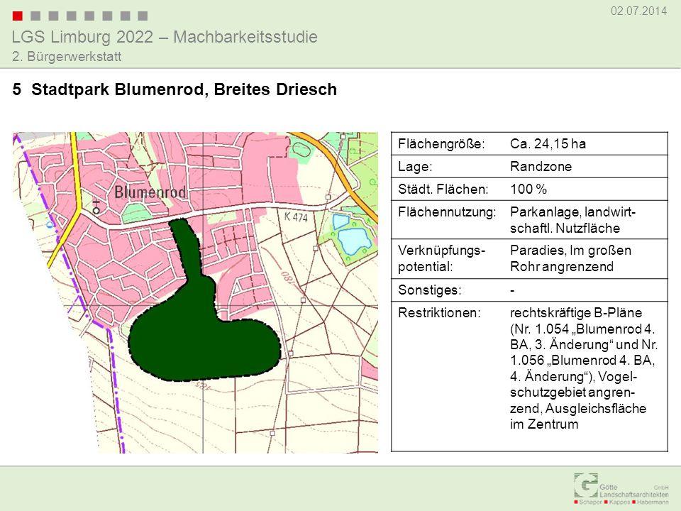 5 Stadtpark Blumenrod, Breites Driesch