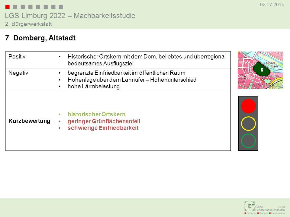 7 Domberg, Altstadt Positiv