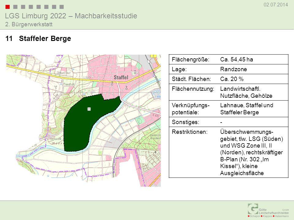 11 Staffeler Berge Flächengröße: Ca. 54,45 ha Lage: Randzone