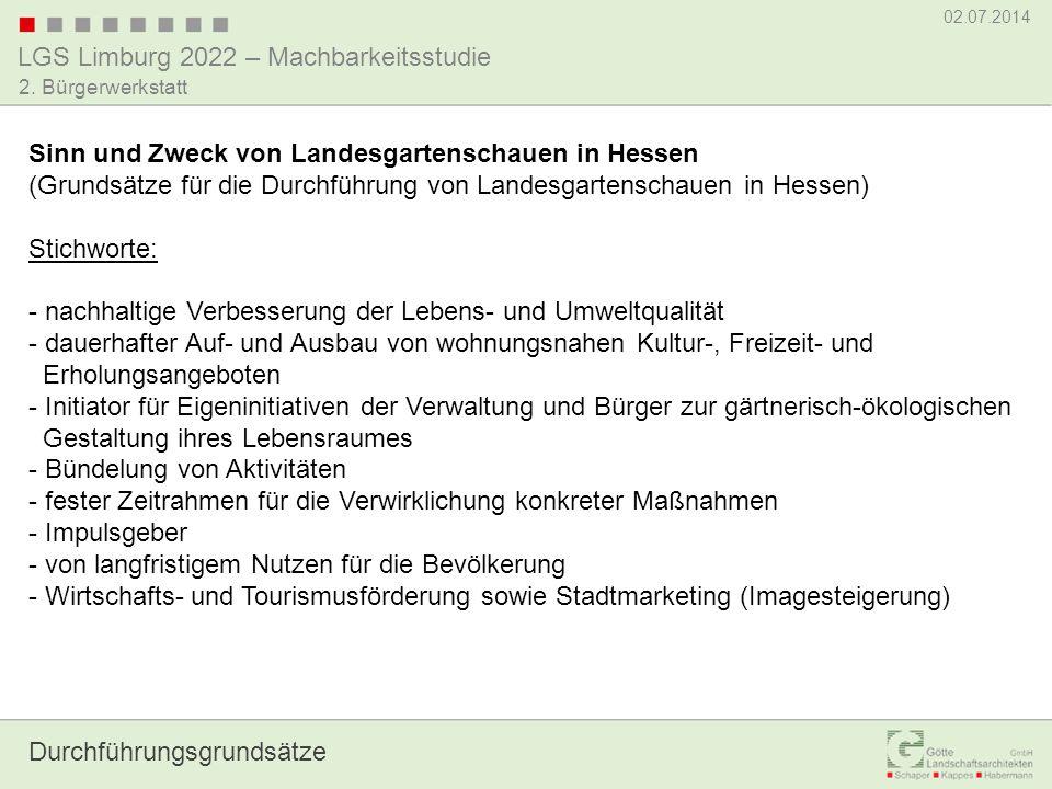 Sinn und Zweck von Landesgartenschauen in Hessen