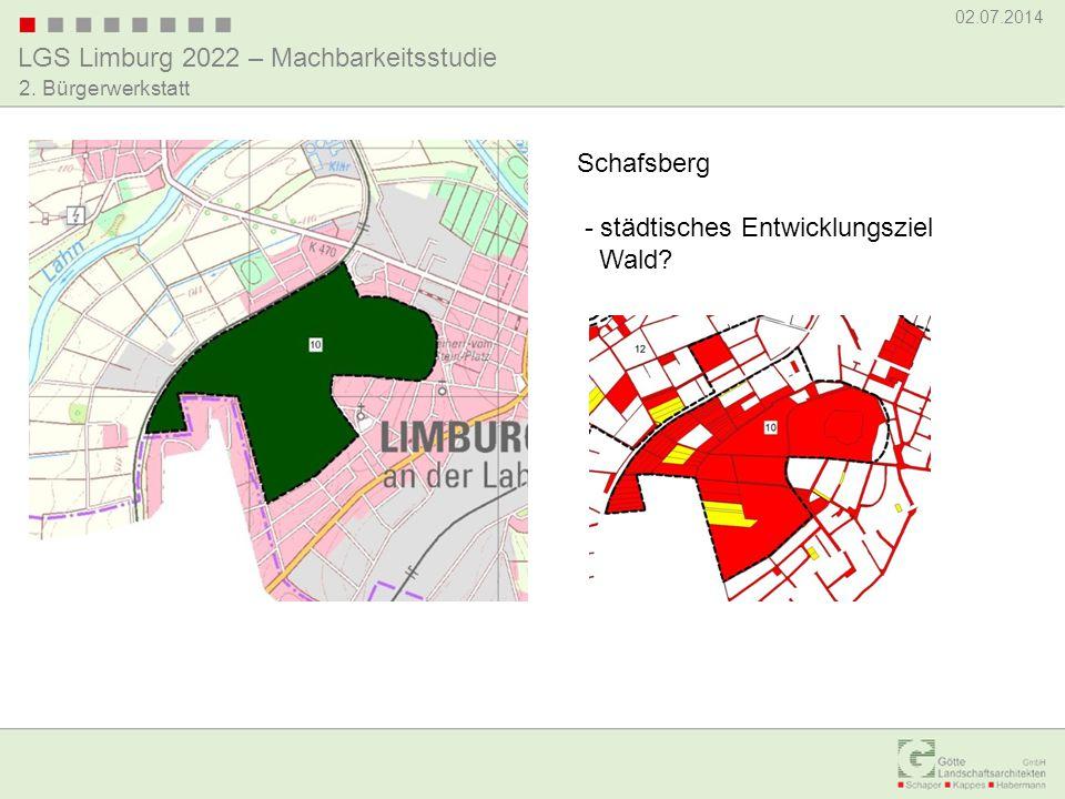 Schafsberg - städtisches Entwicklungsziel Wald