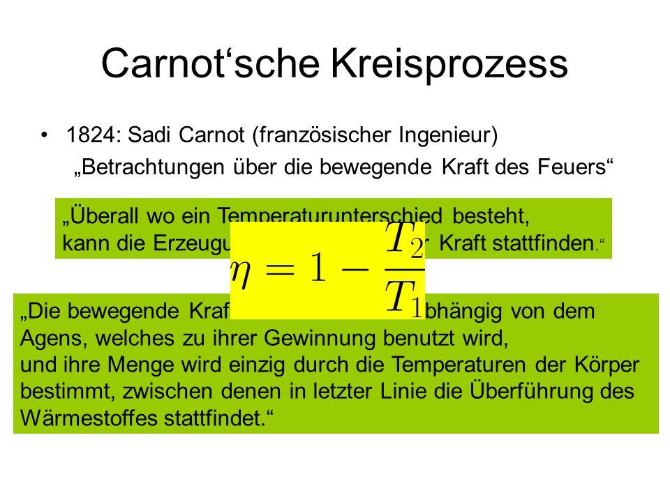 Carnot'sche Kreisprozess