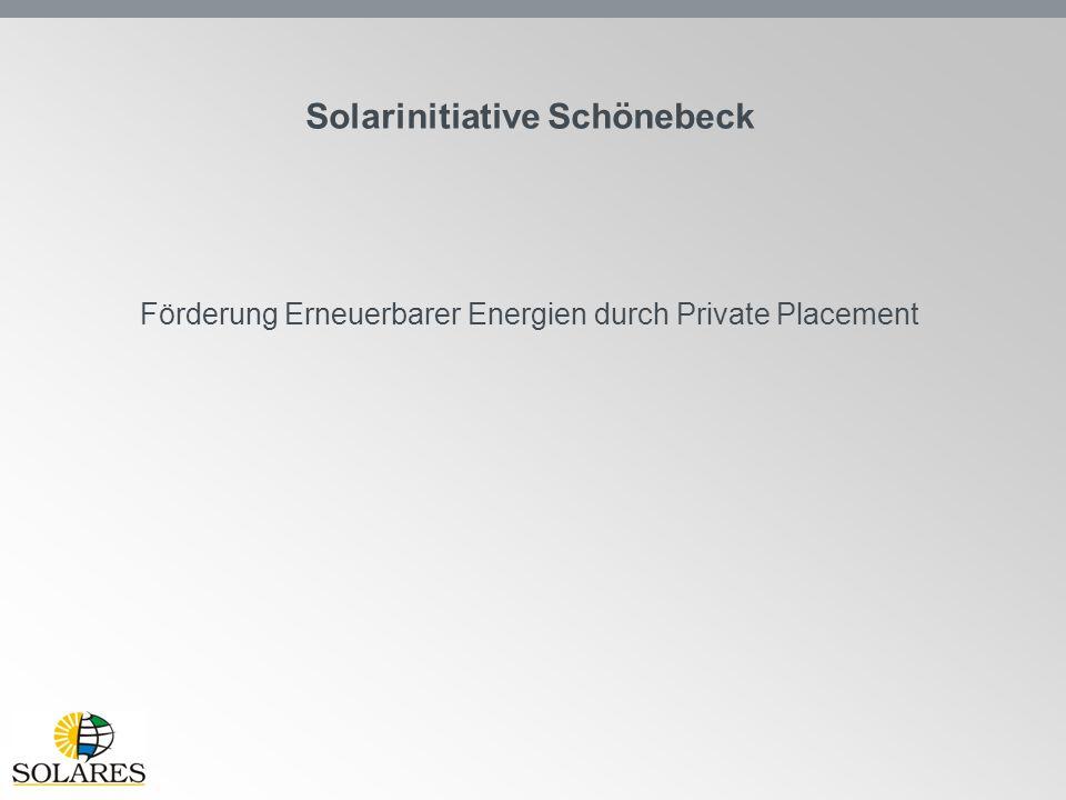 Solarinitiative Schönebeck