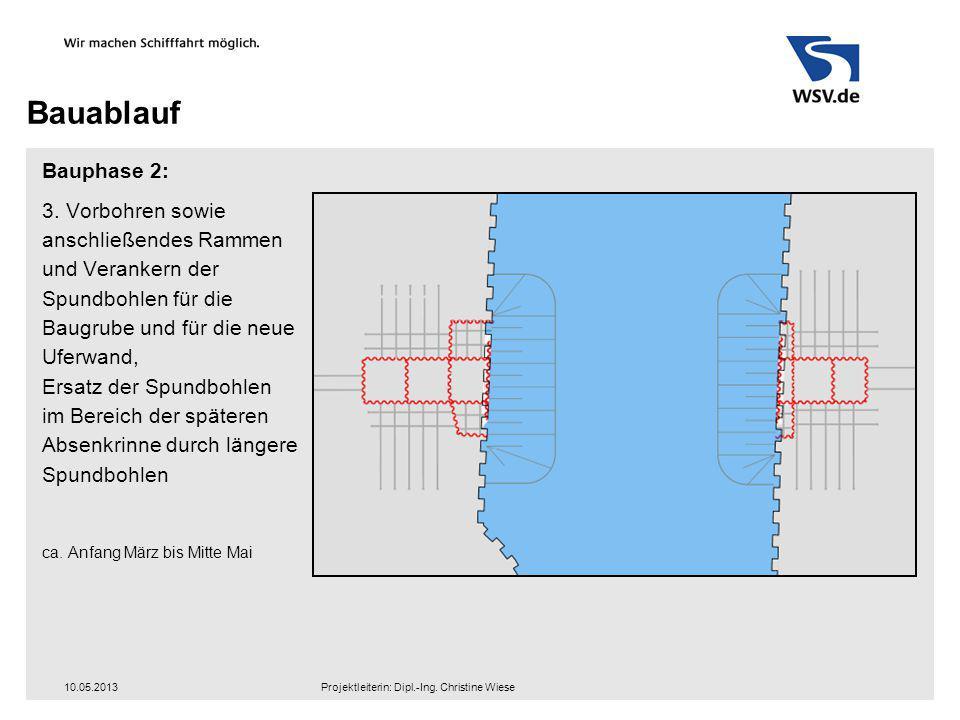 Bauablauf Bauphase 2: