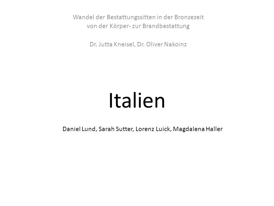 Daniel Lund, Sarah Sutter, Lorenz Luick, Magdalena Haller