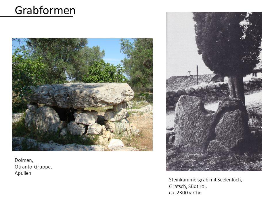 Grabformen Dolmen, Otranto-Gruppe, Apulien