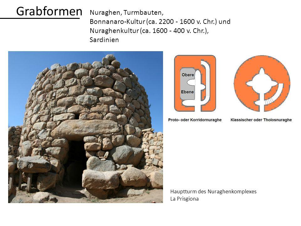 Grabformen Nuraghen, Turmbauten,