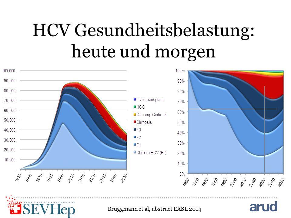 HCV Gesundheitsbelastung: heute und morgen