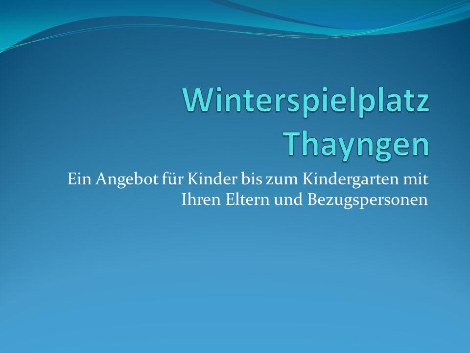 Winterspielplatz Thayngen