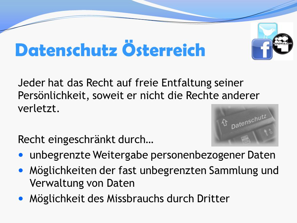 Datenschutz Österreich