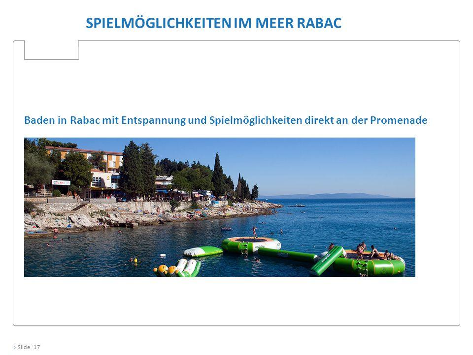 Spielmöglichkeiten im Meer RAbac
