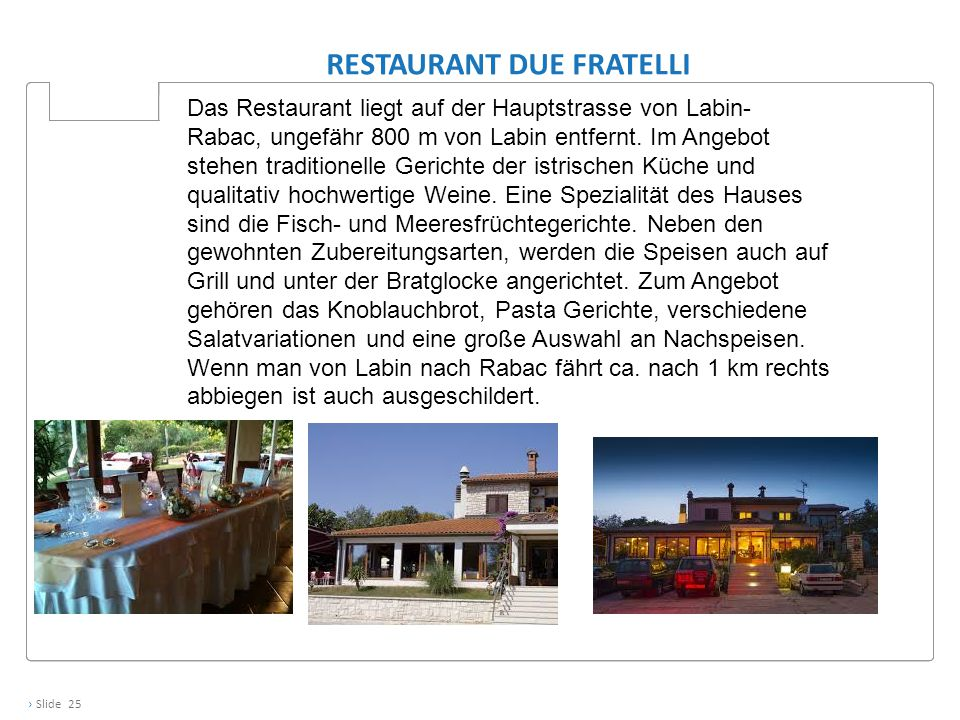 Restaurant Due Fratelli