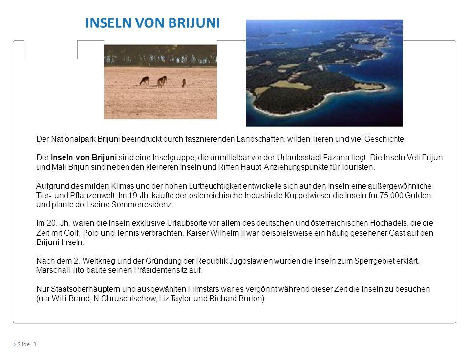 Inseln von Brijuni