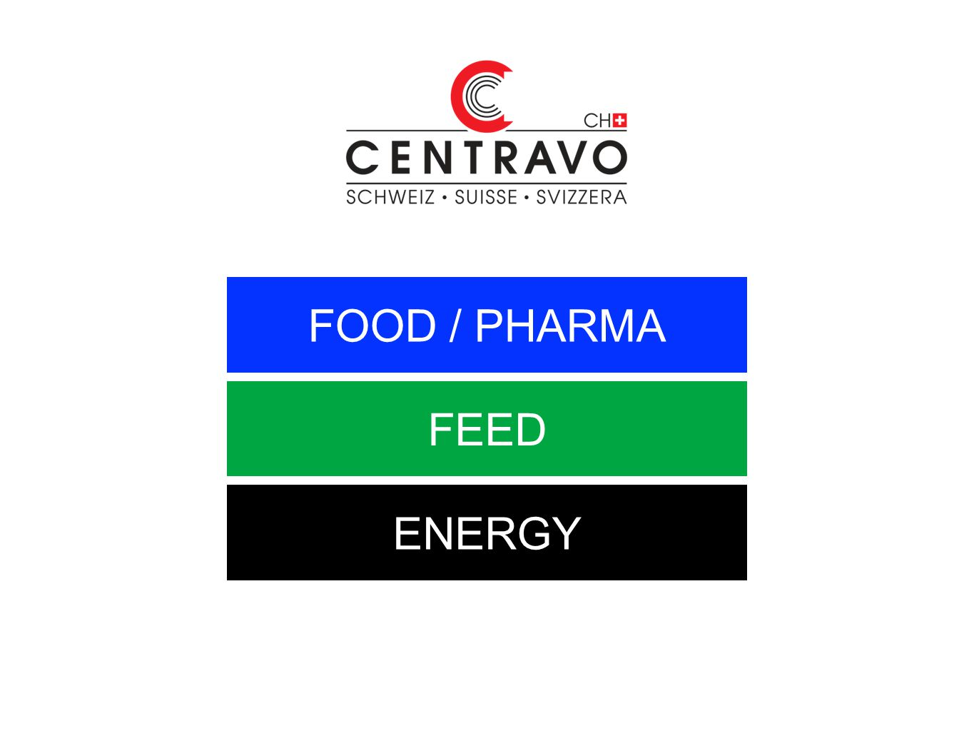FOOD / PHARMA FEED ENERGY