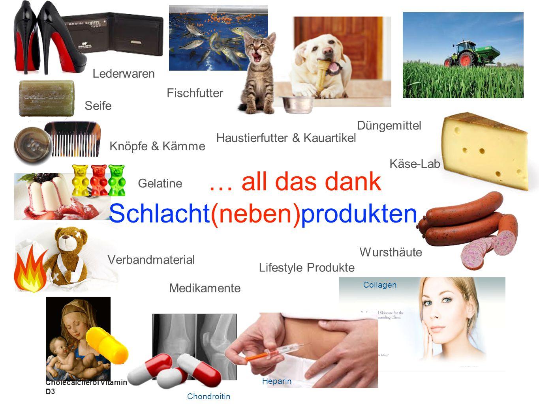 Schlacht(neben)produkten