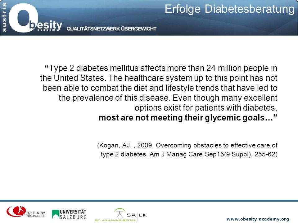 Erfolge Diabetesberatung