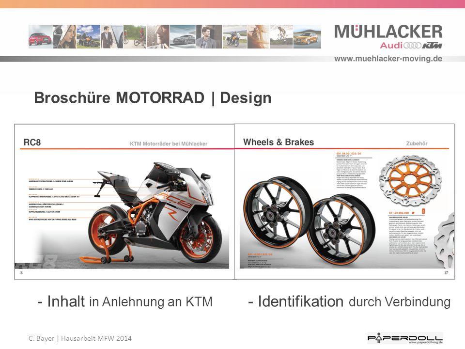 Broschüre MOTORRAD | Design