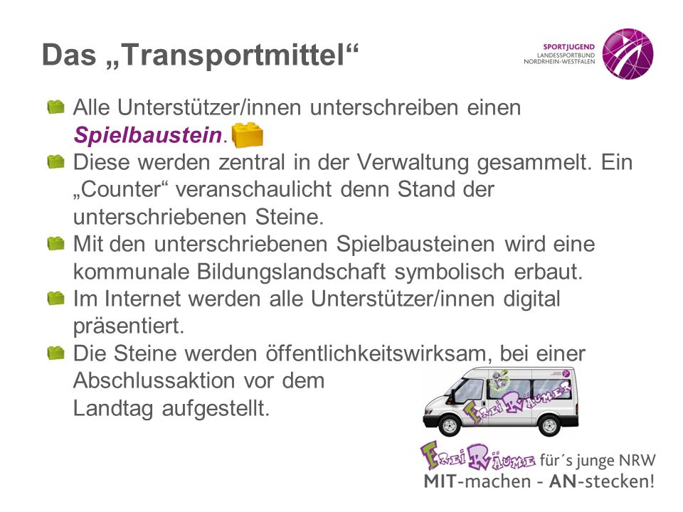 "Das ""Transportmittel"
