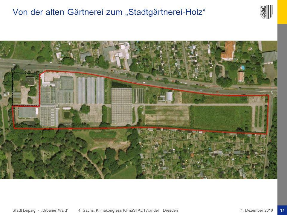 """Von der alten Gärtnerei zum """"Stadtgärtnerei-Holz"""