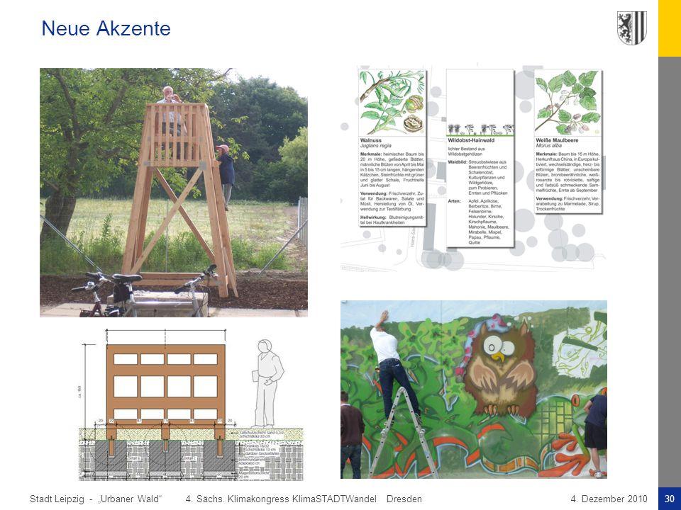 """Neue Akzente """"Urbaner Wald 4. Sächs. Klimakongress KlimaSTADTWandel Dresden."""