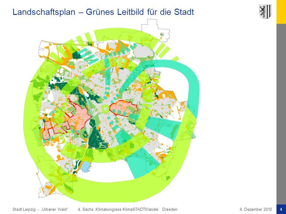 Landschaftsplan – Grünes Leitbild für die Stadt