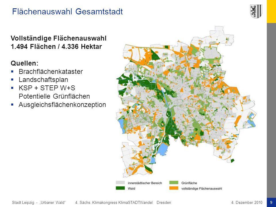 Flächenauswahl Gesamtstadt