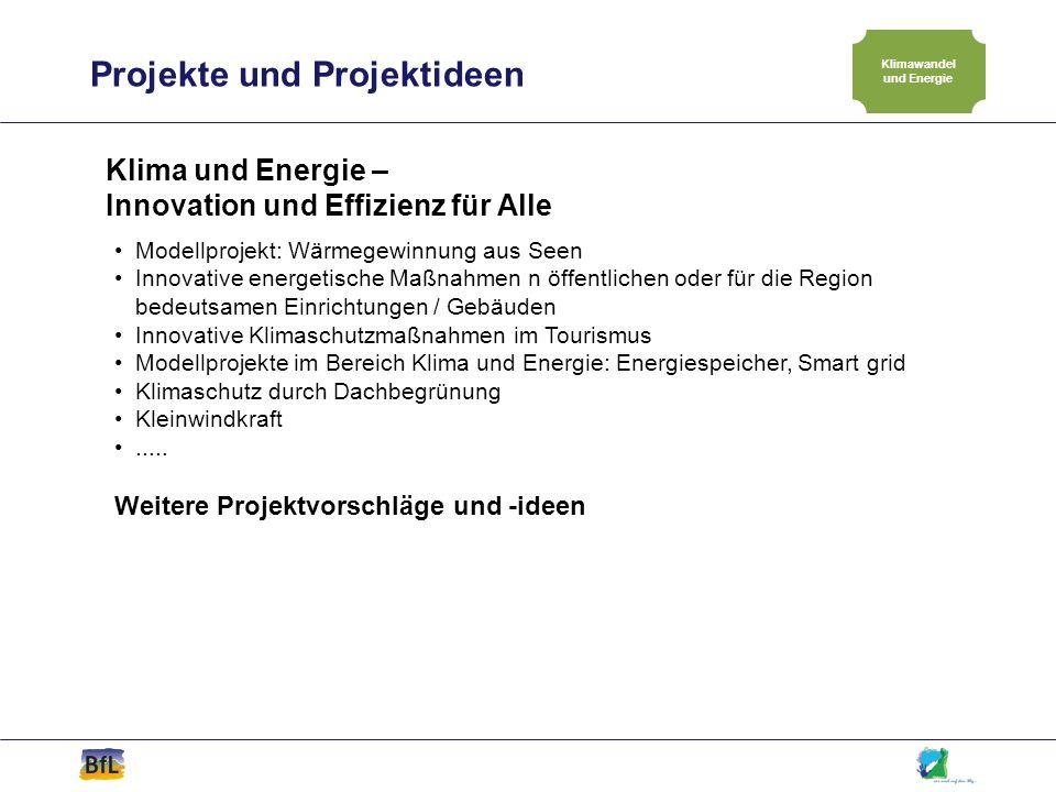 Klimawandel und Energie
