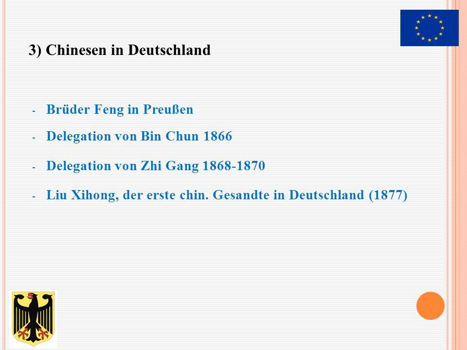 3) Chinesen in Deutschland