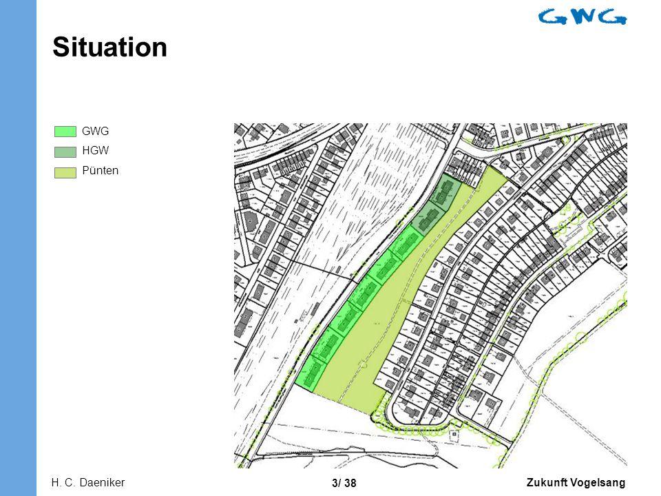 Situation GWG HGW Pünten Flächen erläutern