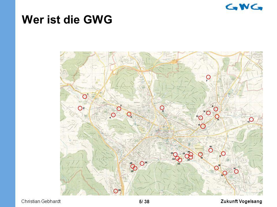 Wer ist die GWG 2. grösste Wohnbaugenossenschaft Platz Winterthur