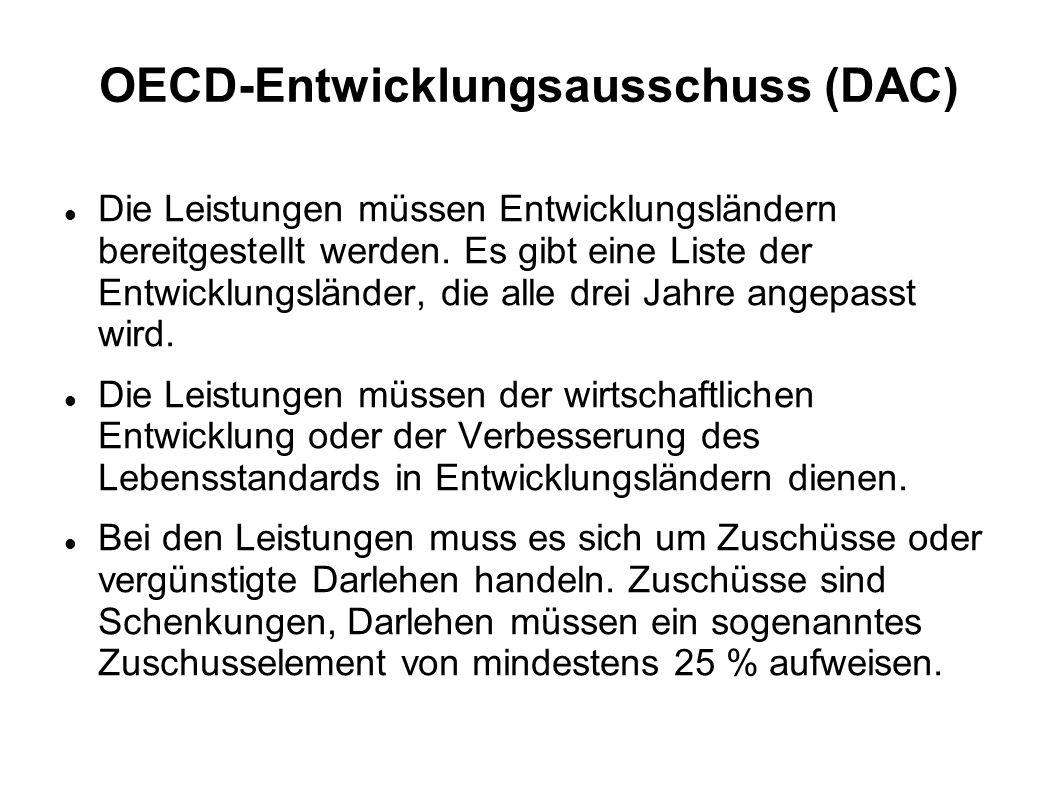 OECD-Entwicklungsausschuss (DAC)
