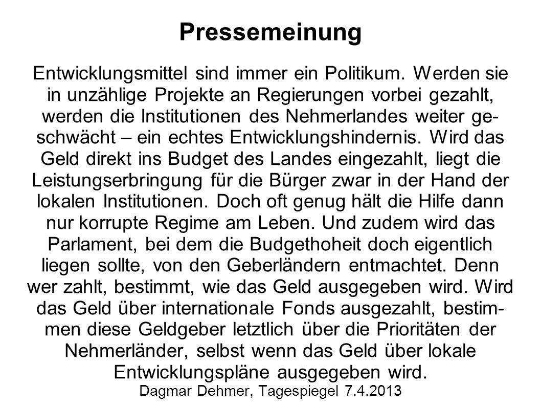 Dagmar Dehmer, Tagespiegel 7.4.2013
