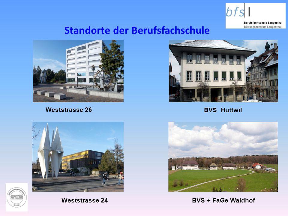Standorte der Berufsfachschule