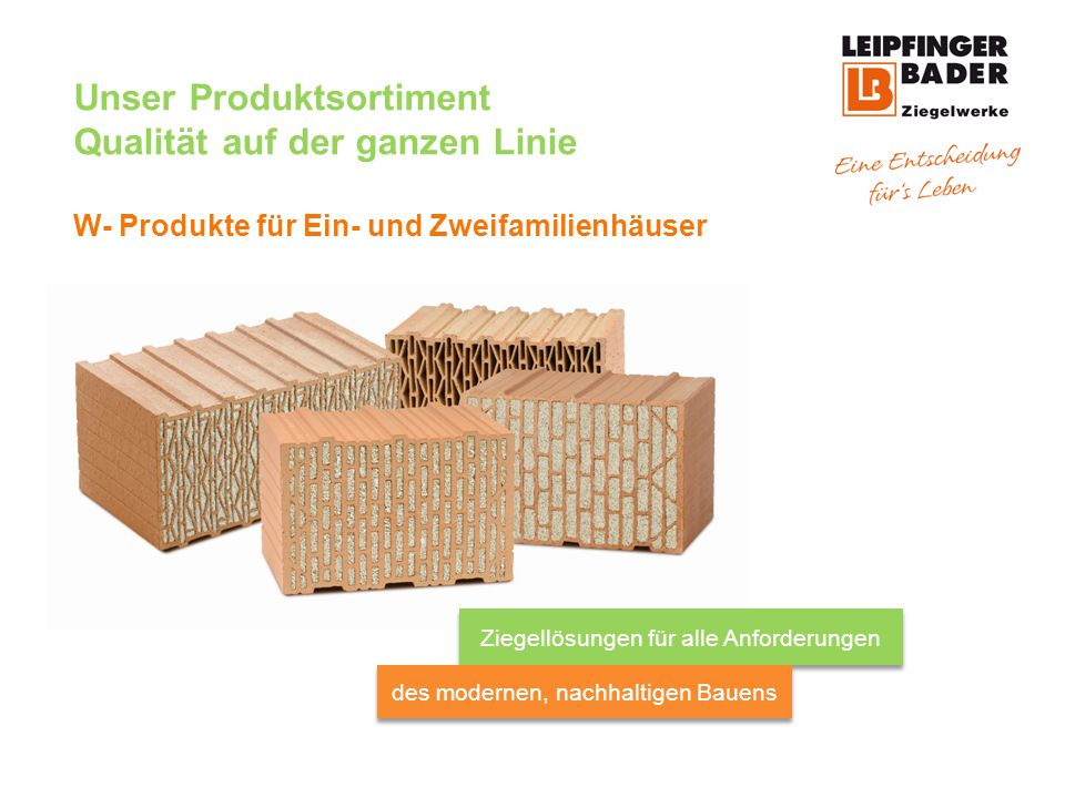 Unser Produktsortiment