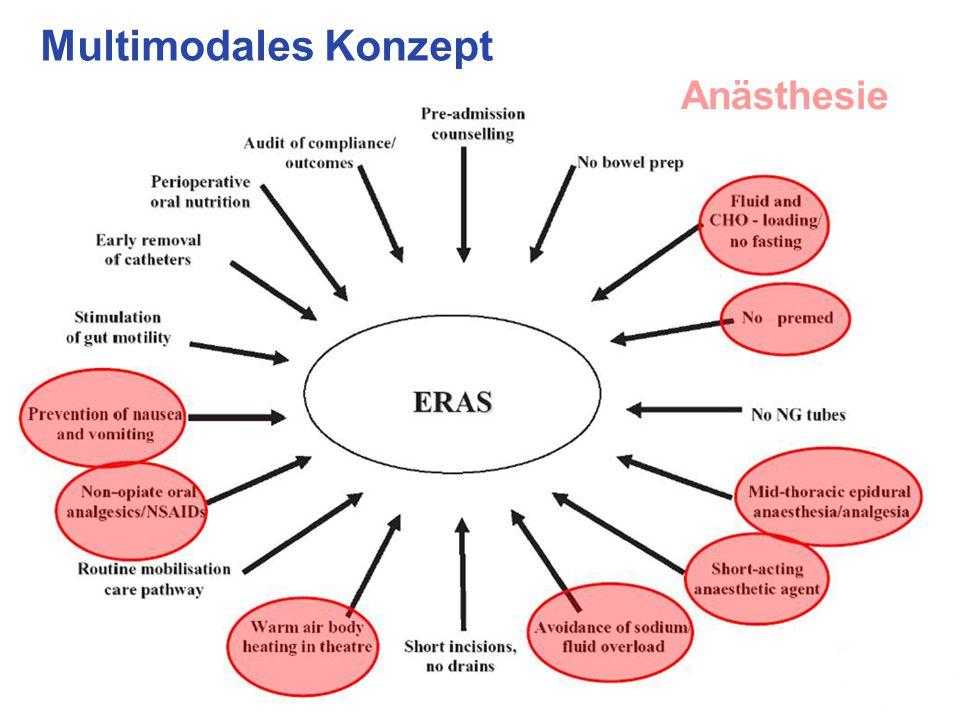 Multimodales Konzept Anästhesie