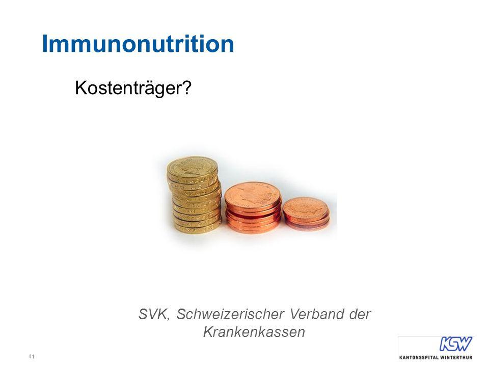 SVK, Schweizerischer Verband der Krankenkassen