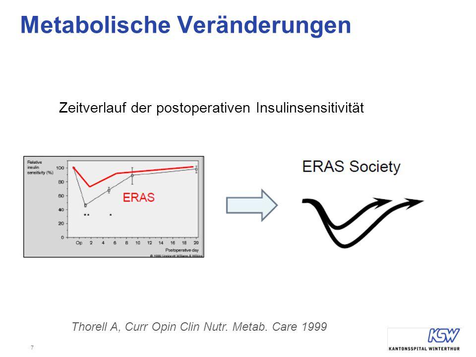 Metabolische Veränderungen